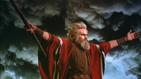 Tim Tebow to play Charlton Heston in remake of epic film.