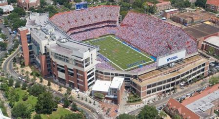 "University of Florida Ben Hill Griffin Stadium ""The Swamp"" - seats 88,000 +"